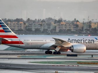 American Airlines Boeing 787-8 at LAX (N812AA)