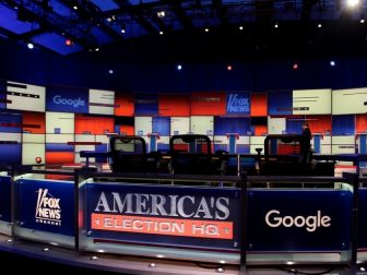 Presidential Election Debate Stage
