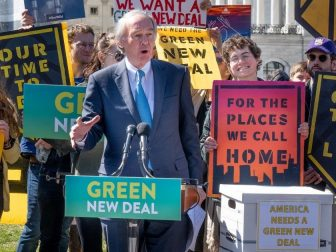 Green New Deal Rally in 2019