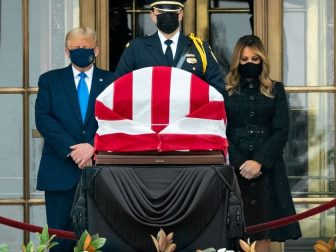 President Trump and the First Lady Pay Respects to Associate Justice Ruth Bader Ginsburg