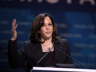 Democratic VP Nominee Kamala Harris