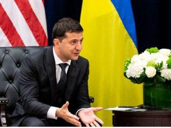Ukraine President Volodymyr Zalensky in 2019