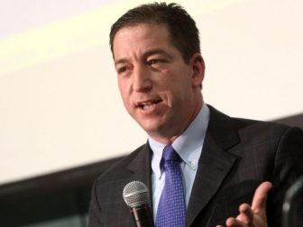 Glenn Greenwald speaking at the Young Americans for Liberty's Civil Liberties tour at the University of Arizona in Tucson, Arizona.