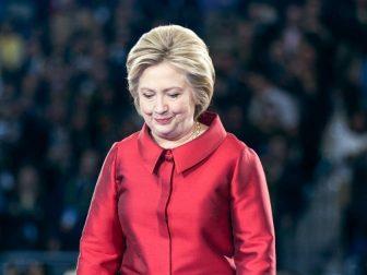 Hillary Clinton in Washington DC