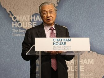 Dr Mahathir bin Mohamad, Prime Minister of Malaysia
