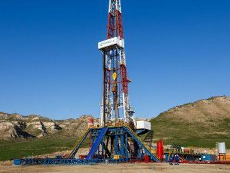 ERIELL oil rig