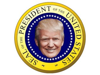 Seal of the President of the United States Donald Trump