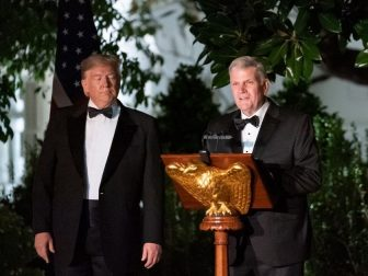 President Trump and Franklin Graham