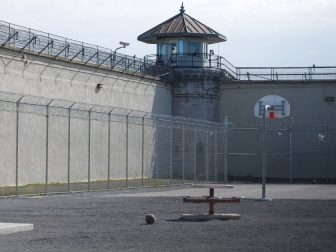 Prison backyard