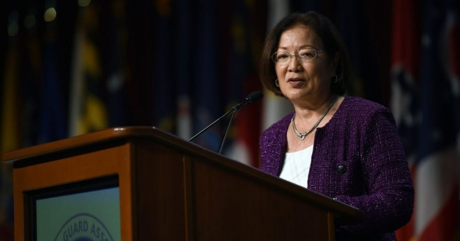 U.S. Sen. Mazie Hirono of Hawaii addresses the National Guard Association of the United States 138th General Conference, Baltimore, Md., Sept. 11, 2016. (U.S. Army National Guard photo by Sgt. 1st Class Jim Greenhill)