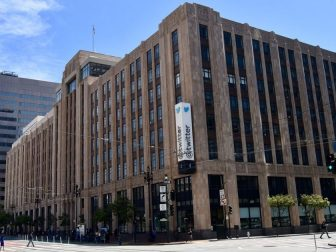 Twitter headquarters in San Francisco, California