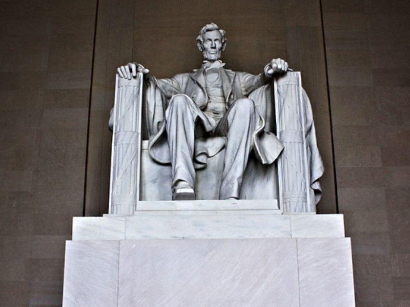 The Abraham Lincoln Memorial in Washington D.C.