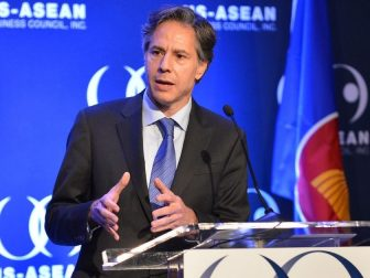 Deputy Secretary Antony Blinken delivers remarks on U.S. policy in Southeast Asia at the U.S.-ASEAN Business Council Annual Gala in Washington, D.C., on June 15, 2015.