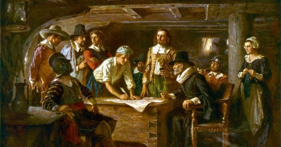 Mayflower Compact.