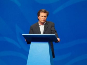 Michael J. Fox speaking at Lotusphere 2012
