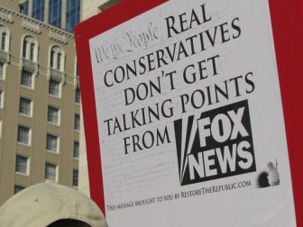 Real Conservatives Don't Get Talking Points From FOX News