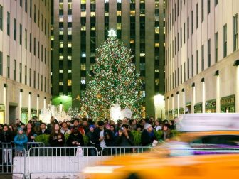 Rockefeller Christmas Tree in New