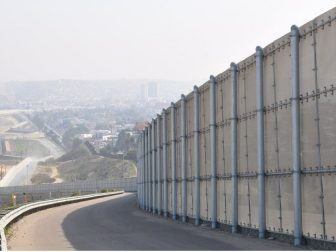 US Mexico Border - the secondary fence