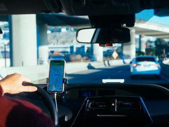 Lyft driver in San Francisco