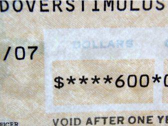 $600 Stimulus Check