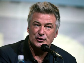 "Alec Baldwin speaking at the 2016 San Diego Comic Con International, for ""The Boss Baby"", at the San Diego Convention Center in San Diego, California."