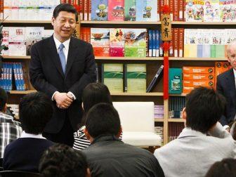 Chinese President Xi Jinping & Joe Biden