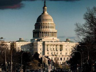 U.S. capitol building in Washington D.C.
