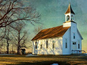 Methodist Country Church in Battle Center, Iowa