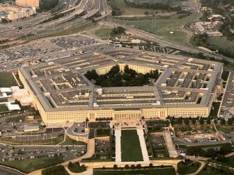 The Pentagon taken from a commercial plane, September 2018