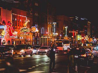 Broadway, Downtown Nashville, TN
