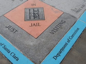 Just Visiting Jail Monopoly Space