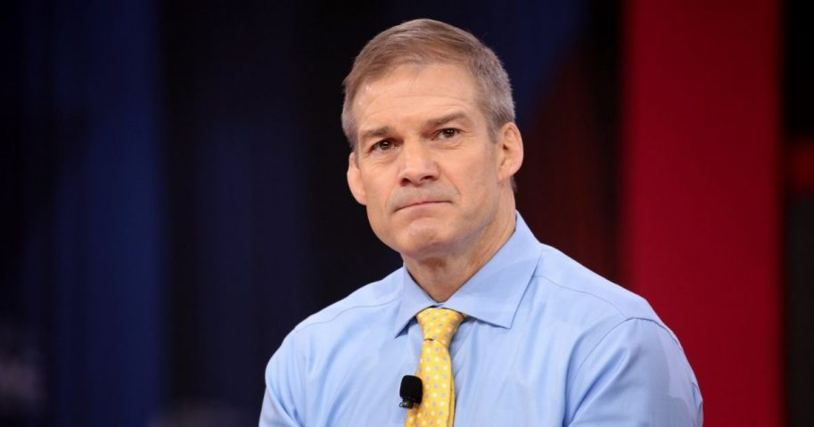 U.S. Congressman Jim Jordan speaking at the 2018 Conservative Political Action Conference (CPAC) in National Harbor, Maryland