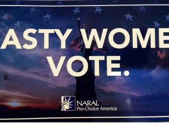 NARAL Pro-Choice America banner