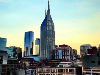 High rise buildings in Nashville