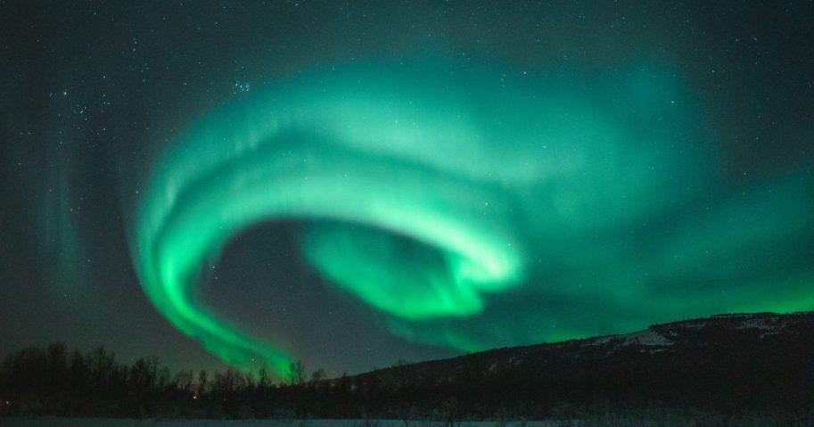 Photo of Aurora During Evening