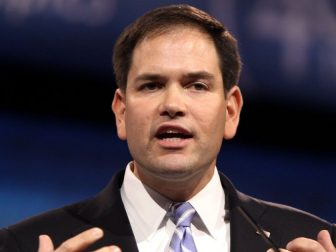 Senator Marco Rubio of Florida speaking at the 2013 Conservative Political Action Conference (CPAC) in National Harbor, Maryland.