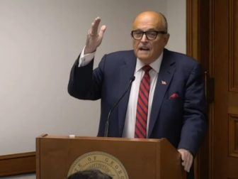 Trump campaign attorney Rudy Giuliani encouraged Georgia legislators to look to the judgment of history if they fail to act on alleged voter fraud and allow Democrat Joe Biden to remain the certified winner of their state.