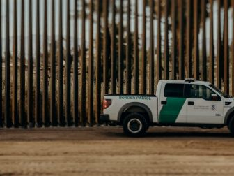 In Calexico, California, DHS is on schedule and on budget in building a new, 30-foot steel bollard wall – as approved by this Administration. This replaces 2 miles of legacy primary pedestrian barrier. March 2018.
