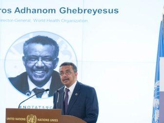 Dr Tedros Adhanom Ghebreyesus, WHO Director-General