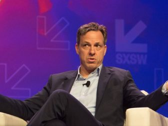 CNN's Jake Tapper @ SXSW 2017 From the conversation Unprecedented: The Election That Changed Everything