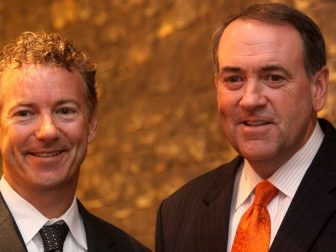 Senator Rand Paul & Mike Huckabee