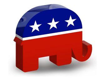 Republican Elephant - 3D Icon