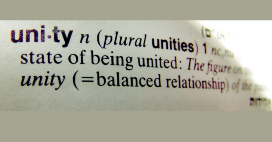 Unity Dictionary Definition