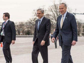 Schumer meets with Judge Merrick Garland