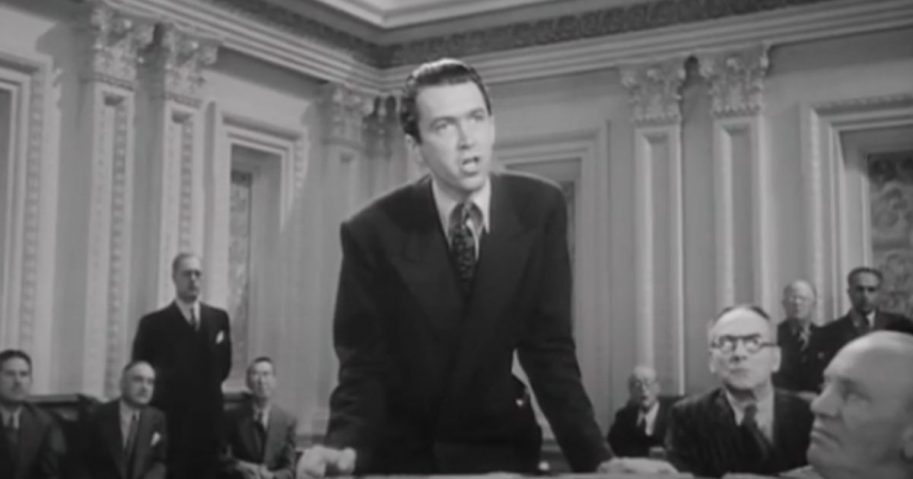 "Big Tech's decision to shut down Parler calls to mind the climatic closing in the 1939 Frank Capra film, ""Mr. Smith Goes to Washington."""