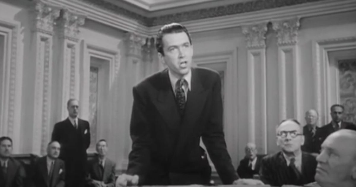 """Big Tech's decision to shut down Parler calls to mind the climatic closing in the 1939 Frank Capra film, """"Mr. Smith Goes to Washington."""""""