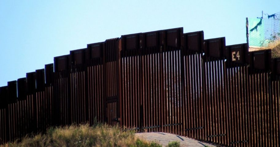 AZ Border Wall near Nogales