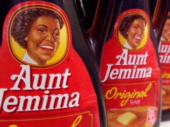 Aunt Jemima, Syrup. 8/2014, by Mike Mozart of TheToyChannel and JeepersMedia on YouTube.
