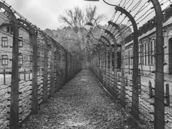 Pathway at Auschwitz