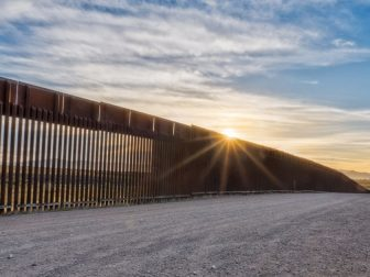 Border Wall between the United States and Mexico